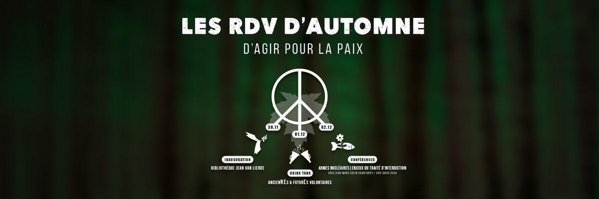 Permalink to: 30 nov. > 02 déc. | Les RDV d'automne d'Agir pour la Paix